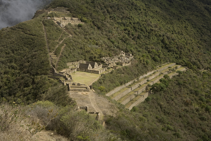The ruins of Choquequirao.