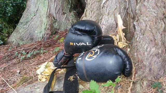 boxing for hiking training