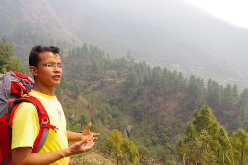 Our guide Tsering Sherpa, who grew up in the Langtang village of Briddam, tells us about his homeland.