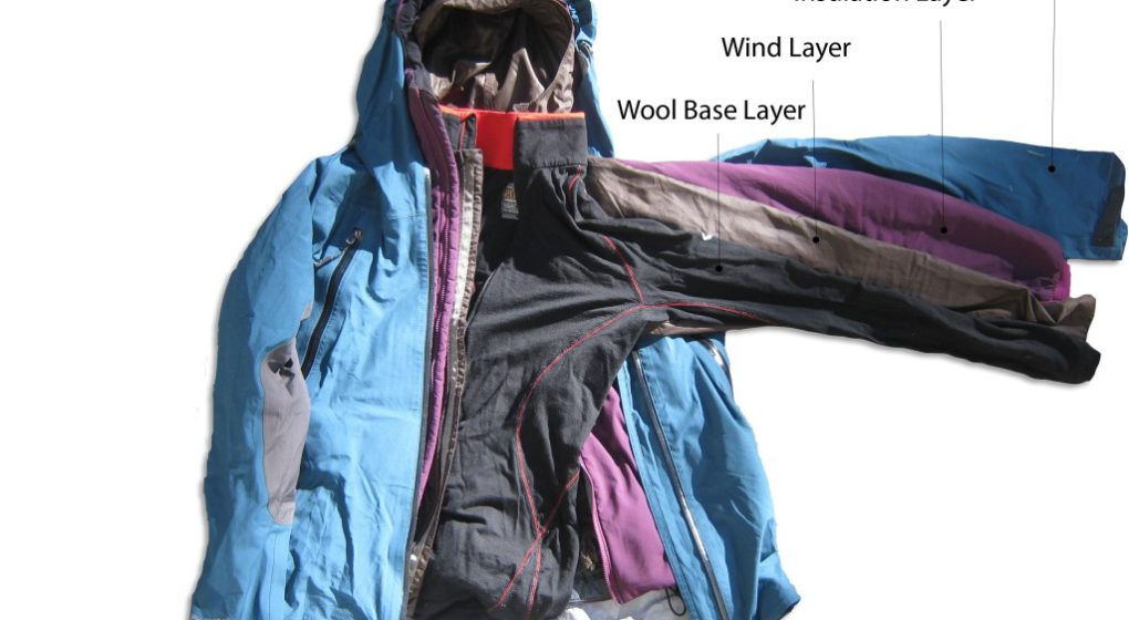 what to wear for cold hiking