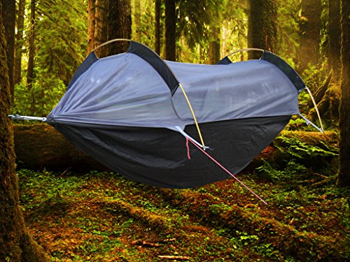 Crehouse Lightweight C&ing Hammock & The 11 Best Backpacking Hammocks [2017 Buyers Guide] | Slick ...