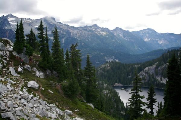 Tuck and Robin Lakes, Washington
