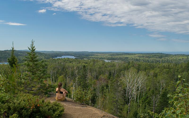 Greenstone Ridge Trail, Isle Royale National Park, Michigan