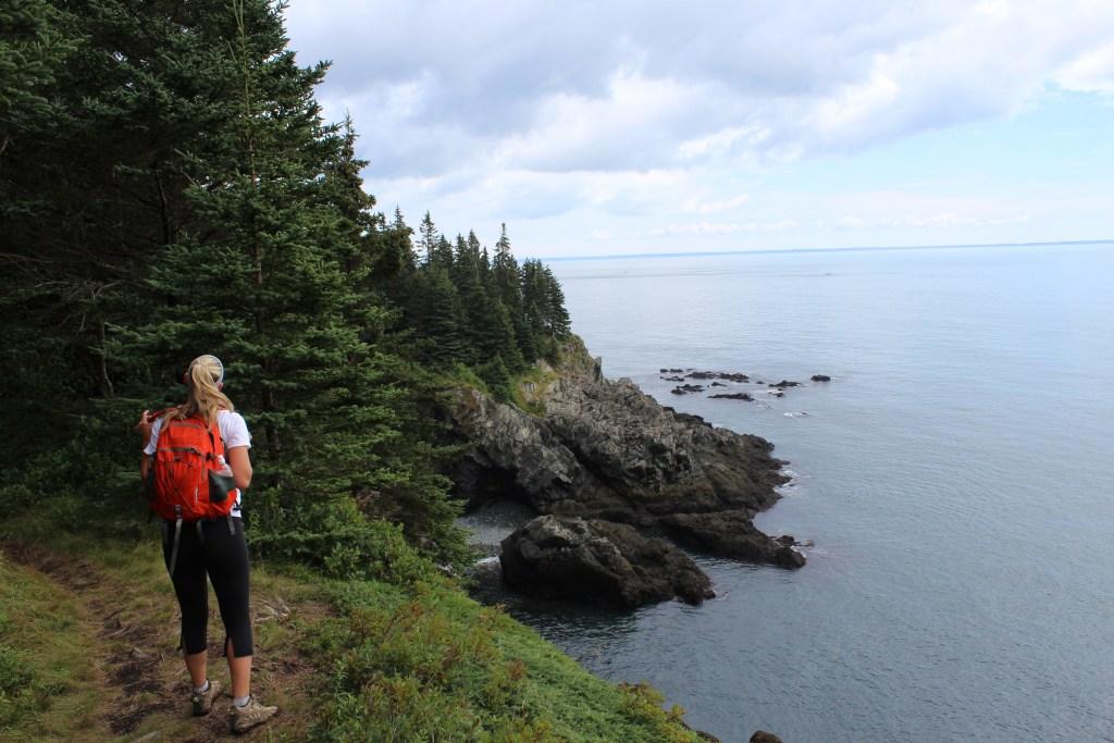 The Cutler Coast Trail, Maine